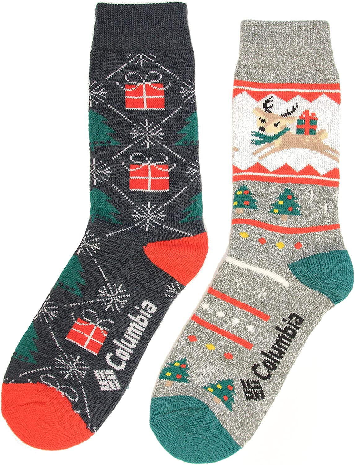 Columbia Holiday Fawn Midweight Thermal 2-Pack