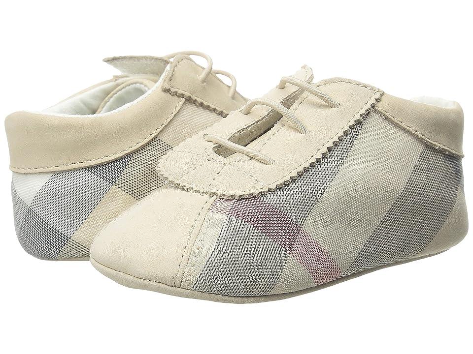 Burberry Kids N1 Bosco (Infant/Toddler) (Stone) Girls Shoes