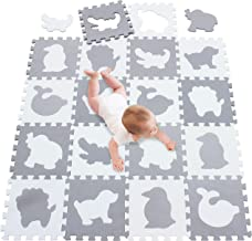 meiqicool Baby Playmats Floor Gyms Jigsaws Puzzles Jigsaw Accessories Puzzle Play mats Floor jigsaws Exercise mats Frame jigsaws Fitness Yoga mats Play mat Crawling mat Protective Flooring 051