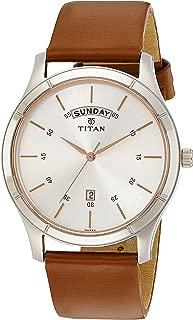 Titan Neo Analog Silver Dial Men's Watch-1767SL01