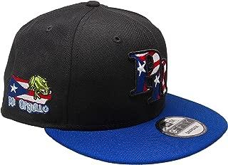 B62830000 570B6783000001 EN Puerto Rico New Era Custom 9Fifty Snapback Hat - Black, Royal, Red, White