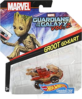 Hot Wheels Marvel Rhino Character Car - 3 Years And Above, For 3 Years & Above (BDM71)