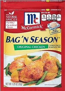 McCormick Bag 'n Season Original Chicken Cooking & Seasoning Mix, 1.25 oz