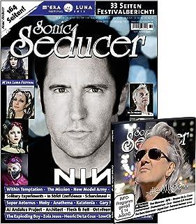 Sonic Seducer 10-13 inkl. großem M'Era Luna-Special (33 Seiten) + CD-Beilage mit über 70 Minuten Spielzeit, Bands: Nine Inch Nails (Titel), In Extremo, New Model Army, The Mission u.v.m.