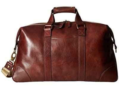 Bosca Dolce Collection Duffel (Dark Brown) Duffel Bags
