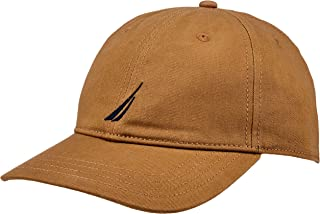 Nautica Men's FCA J CLASS 6 PANEL BASEBALL CAP OYSTER, Oyster, One Size