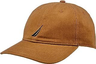 Nautica Men's FCA J CLASS 6 PANEL BASEBALL CAP OYSTER, Oyster, One Size