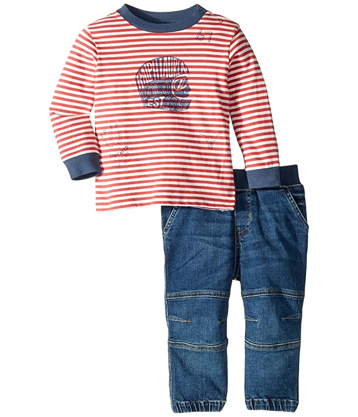 6ca88009d Ralph Lauren Baby Striped T-Shirt and Jeans Jogger Set (Infant) at 6pm
