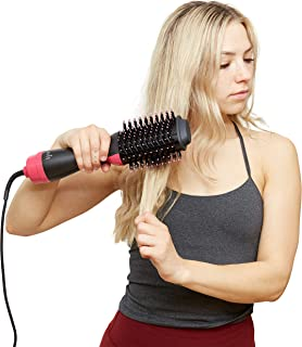 JJSparre Hot Air Brushes - Hair Brush Dryer - Hairdryer/Straightener/Blowdryer/Volume/Straightening/Styling - Blow Dryers - Hot Volumizing Hairbrush - Amazing Salon Drying - Volumize Hair dryer