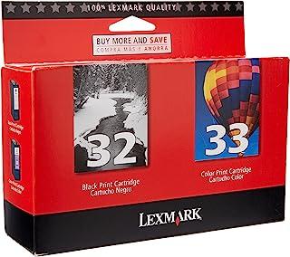 Best Lexmark 18C0532 #32/#33 Twin Pack ink Cartridges Reviews