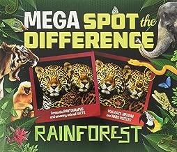 Mega Spot the Difference: Rainforest
