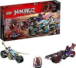 LEGO NINJAGO Street Race of Snake Jaguar 70639 Building Kit (308 Pieces)