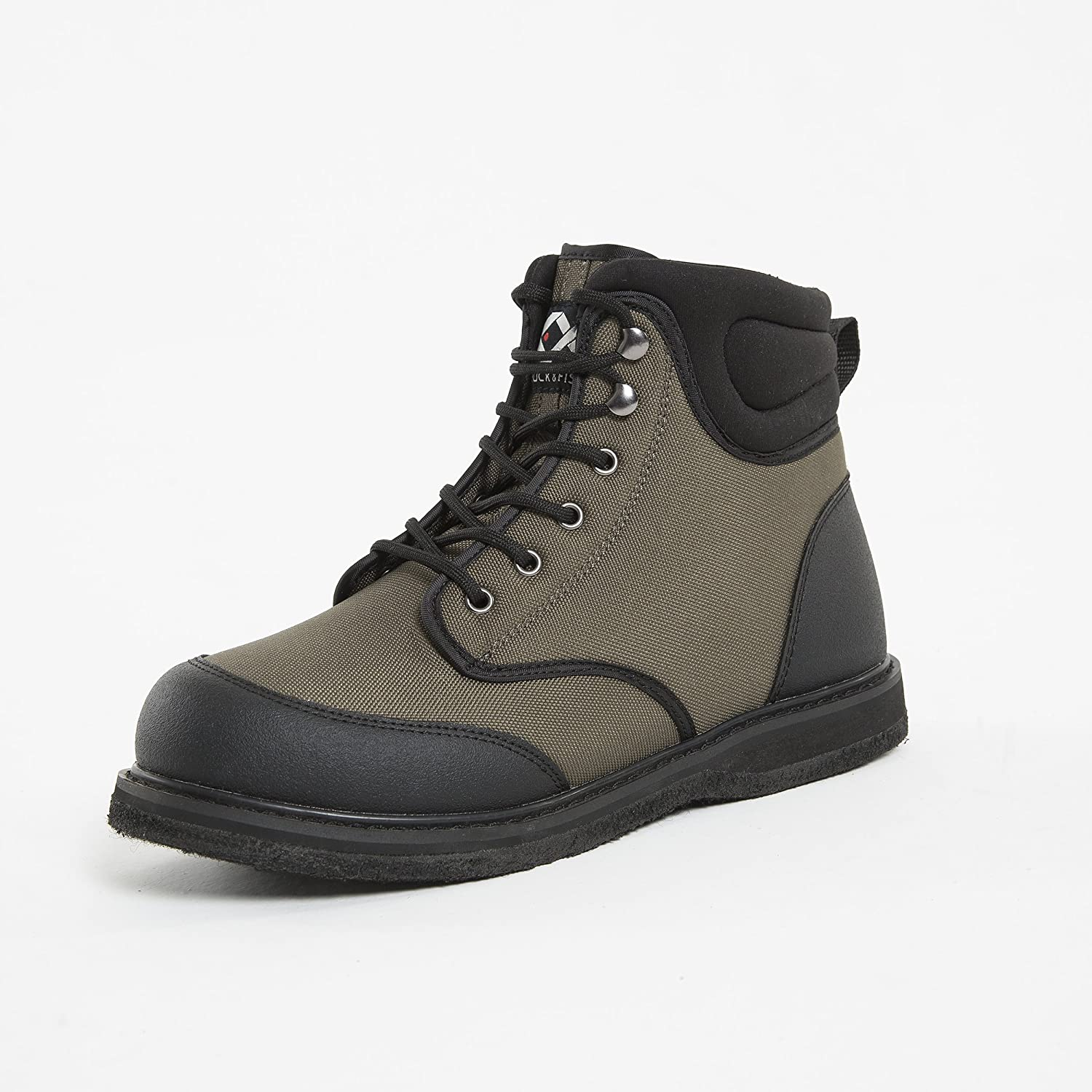 Duck OFFicial mail order depot and Fish Men's Sole Shoe Felt Wading