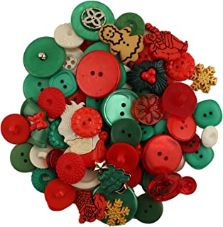 Best christmas bag of buttons Reviews