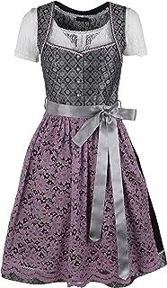 Ramona Lippert Dirndl Letizia - Designer Dirndlkleid fur Damen - Exklusives Trachtenkleid vereint Mode, Lifestyle und Tradition I Dirndl mit Spitzenschürze