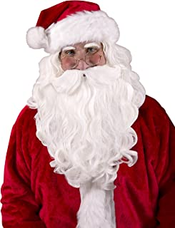 Best santa hat with beard Reviews