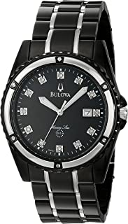 bulova watch mother of pearl dial