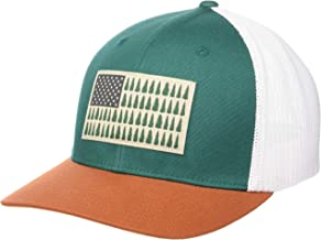 Columbia Mesh Tree Flag Ball Cap, Breathable, Adjustable