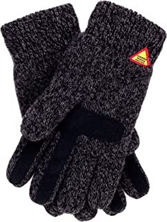 Öjbro Swedish made 100% Merino Wool Soft Thick & Extremely Warm Suede Touch Gloves (as Featured by the Raynauds Assn)