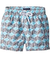 Vilebrequin Kids - Fishes Cube Swim Trunk (Toddler/Little Kids/Big Kids)