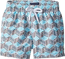 Fishes Cube Swim Trunk (Toddler/Little Kids/Big Kids)