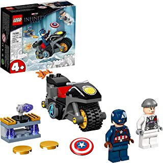 LEGO Super Heroes 76189 Captain America and Hydra Face-Off (49 Pieces)
