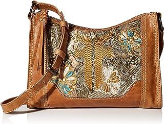 حقيبة كروس ميليسا بسحاب مطرز من شركة FRYE