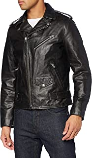Schott NYC Lcperfvint Leather Jacket Homme