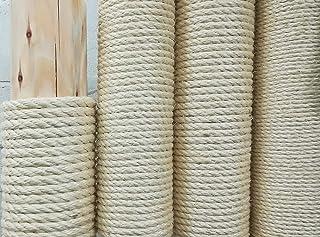 Kratzbaumland Qualitäts-Sisalseil aus Madagaskar-Faser, 6-12 mm, 100 Meter 6 mm