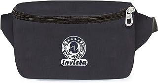 Invicta Marsupio Invicta Benin Ii Recycled Sport Waist Pack 19 centimeters 2 Black (Nero)