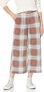RVCA Junior's NIKU Plaid Trouser