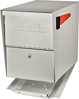 Mail Boss 7207 Package Master Curbside Locking Security Mailbox | White