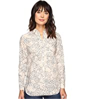 Calvin Klein Jeans - Printed Slim Crisp Boyfriend Button Down Long Sleeve Woven Shirt