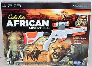 PS3 Cabela`s African Adventures Bundle with Gun
