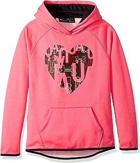 Girls Armourfleece Hoody Heart Icon
