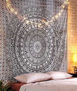 Wansan arazzo Appeso a Parete Arredamento Bohemien Parete Mandala arazzi copriletto Indiano Picnic copriletto Coperta Arte murale 150x130 cm