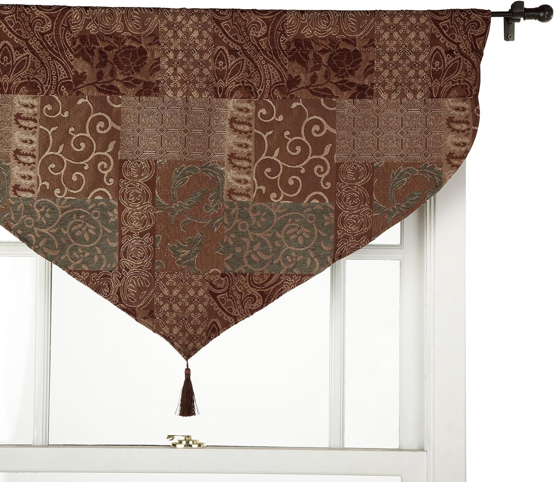 Croscill New life Galleria Brown quality assurance Valance