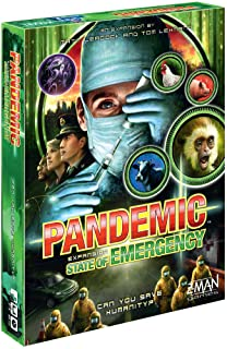 Pandemic - Exp 3: State of Emergency Board & Card Games