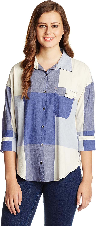 Roxy Juniors Breezy Traditional Woven Plaid Shirt
