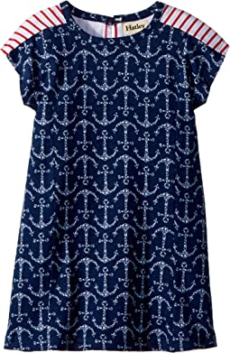 Hatley Kids Seashell Anchors A-Line Dress (Toddler/Little Kids/Big Kids)