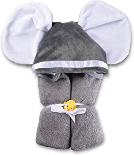 organic hooded towel