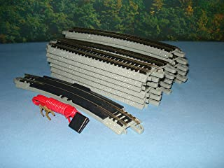 """2018 Special New Bachmann N Gauge EZ Track 24"""" X 40"""" Oval with Terminal/Re-Railer"""