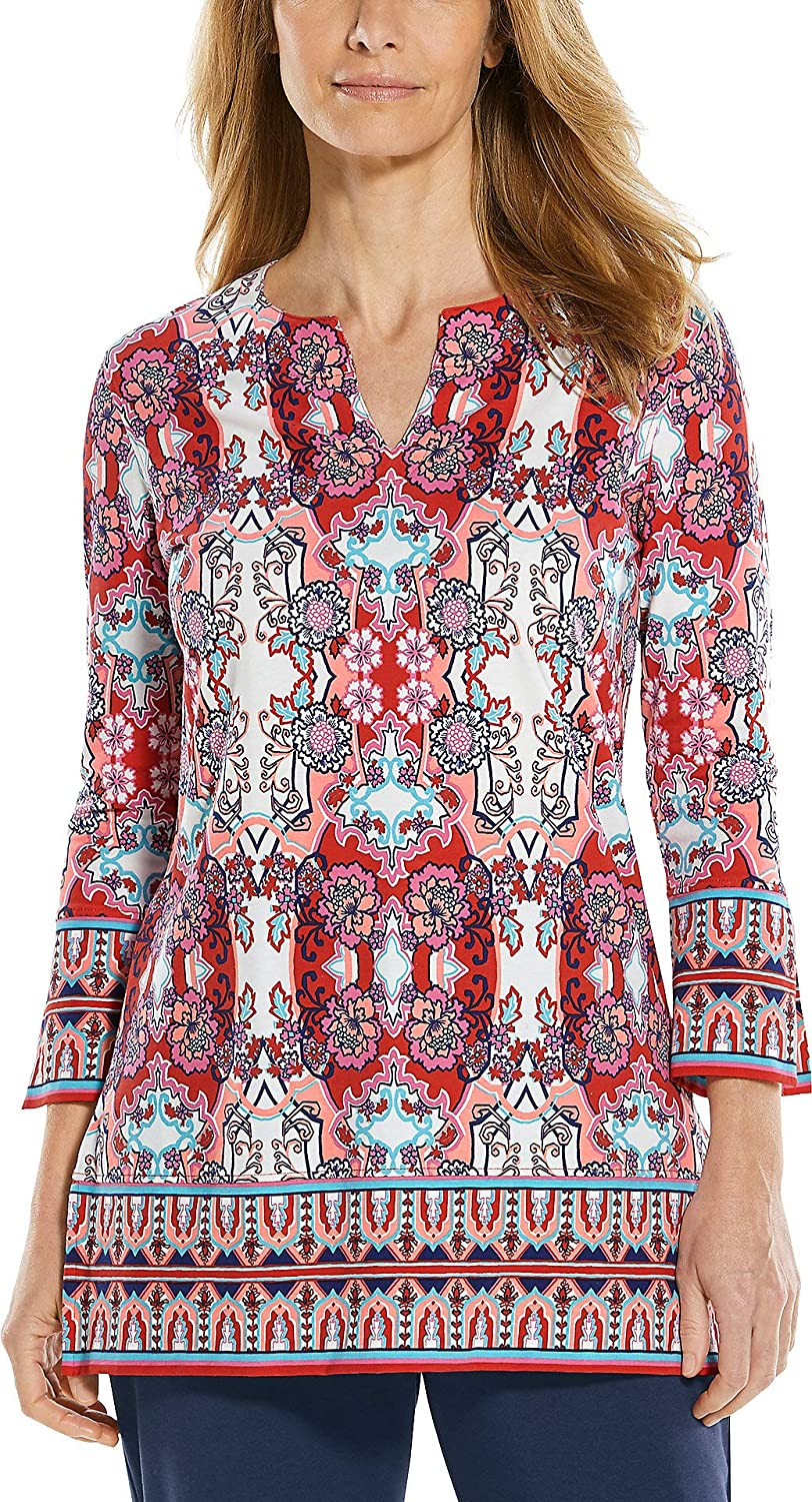 Coolibar UPF Super sale period limited 50+ Women's St. Lucia Tunic Sun - Top Cheap mail order specialty store Protective