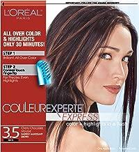 L'Oréal Paris Couleur Experte 2-Step Home Hair Color & Highlights Kit, Chocolate Mousse