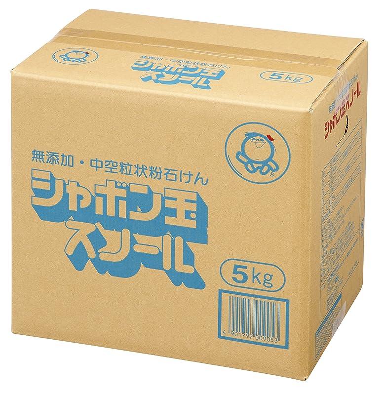 半径田舎南方の【大容量】 シャボン玉 粉石けんスノール(粉石けん) 5kg