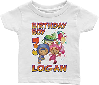 Personalize Umizoomi Birthday Shirt