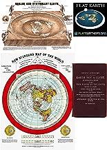 Flat Earth Maps SET OF 2 MAPS- Flat Earth Map - 24