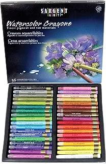 Sargent Art 22-1136 Artist Quality 36 Premium Watercolor Crayons