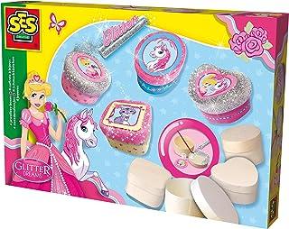 comprar comparacion SES Creative - Glitter Dreams, Joyeros de Brillantina, (14122)