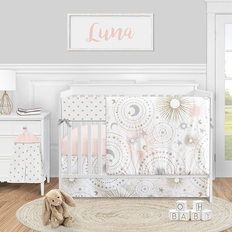 Sweet Jojo Designs Celestial Star free and Nursery Girl Moon Cri Baby security